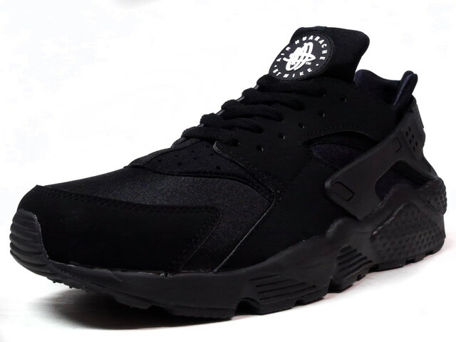 """NIKE AIR HUARACHE """"LIMITED EDITION for ICONS""""  BLK/BLK (318429-003)"""