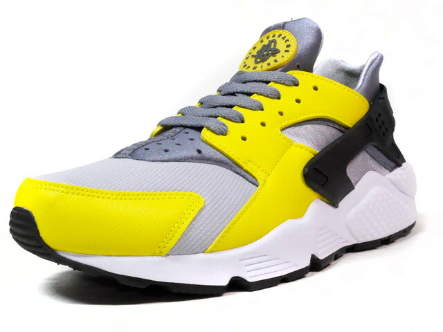 """NIKE AIR HUARACHE """"LIMITED EDITION for ICONS""""  GRY/YEL/BLK/WHT (318429-305)"""