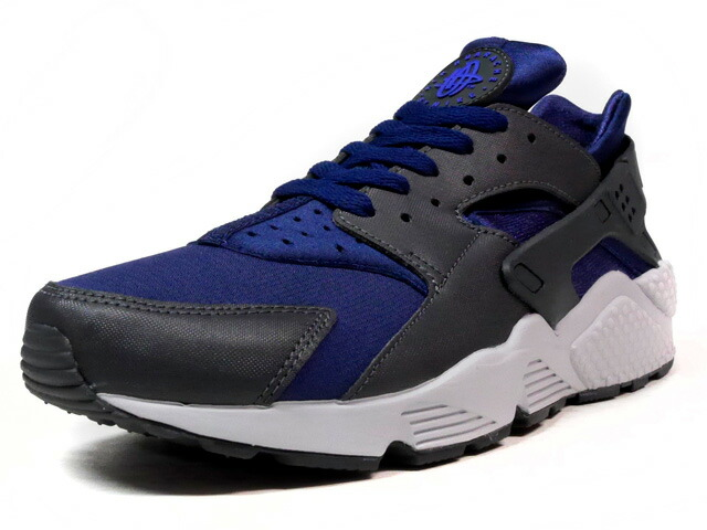 """NIKE AIR HUARACHE """"LIMITED EDITION for ICONS""""  NVY/C.GRY/GRY (318429-407)"""