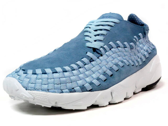 """NIKE AIR FOOTSCAPE WOVEN NM """"LIMITED EDITION for NSW BEST""""  SAX/WHT (875797-002)"""