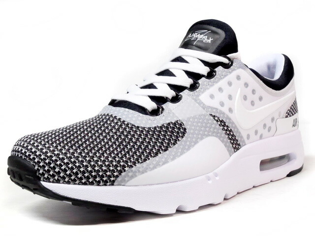 """NIKE AIR MAX ZERO ESSENTIAL """"LIMITED EDITION for NSW BEST""""  WHT/BLK (876070-005)"""
