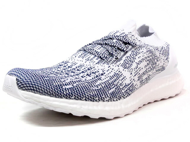 """adidas ULTRA BOOST UNCAGED """"LIMITED EDITION""""  NVY/WHT (BA9616)"""