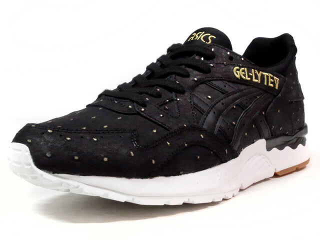 "ASICS Tiger GEL-LYTE III ""GOLD PACK"" ""LIMITED EDITION for L2""  BLK/WHT/GLD/GUM (TQ785L-9090)"