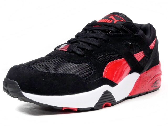 "Puma R698 BLOCK ""LIMITED EDITION for D.C.4""  BLK/RED/WHT (360030-02)"