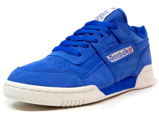 "Reebok WORKOUT PLUS VINTAGE ""LIMITED EDITION""  BLU/WHT (BD3382)"