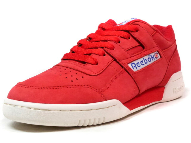 "Reebok WORKOUT PLUS VINTAGE ""LIMITED EDITION""  RED/WHT (BD3383)"