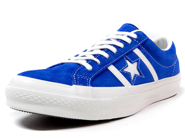 "CONVERSE STAR & BARS SUEDE ""LIMITED EDITION""  BLU/WHT (32350366)"