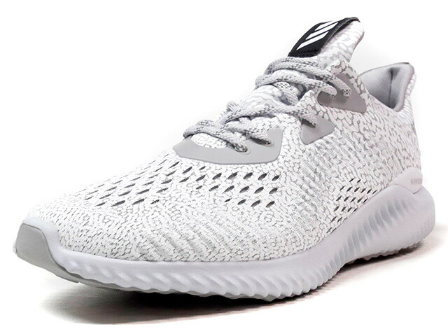 "adidas ALPHA BOUNCE ARAMIS ""LIMITED EDITION""  WHT/GRY/BLK/YEL (BW0427)"