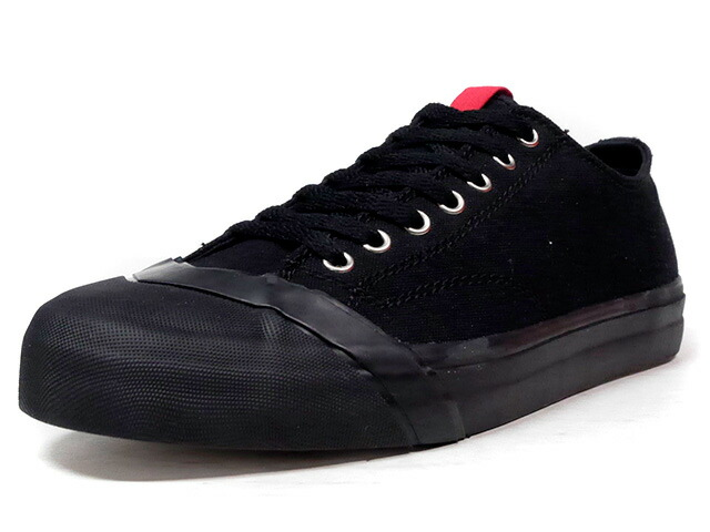 "LOSERS SCHOOLER CLASSIC LOW ""READY MADE""  BLK/RED (16SCL11)"