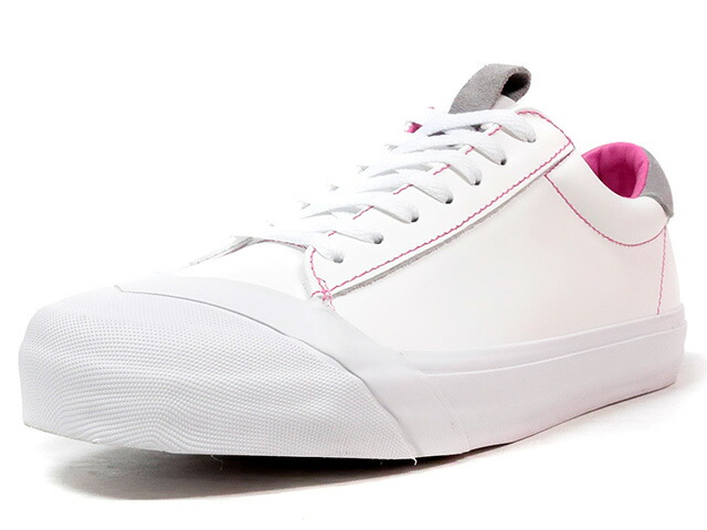 "LOSERS SCHOOLER LO ""READY MADE""  WHT/PINK (16SL11)"