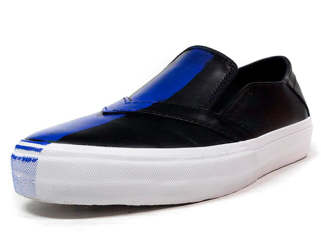 "LOSERS UNEAKER SLIPON ""BLUES"" ""CUSTOM MADE""  BLK/BLU/WHT (16US07)"