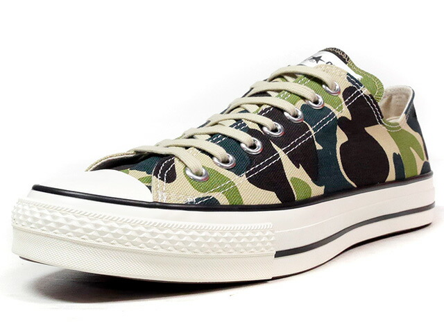 "CONVERSE ALL STAR J 83CAMO OX ""made in JAPAN"" ""LIMITED EDITION""  CAMO/NAT (32168584)"