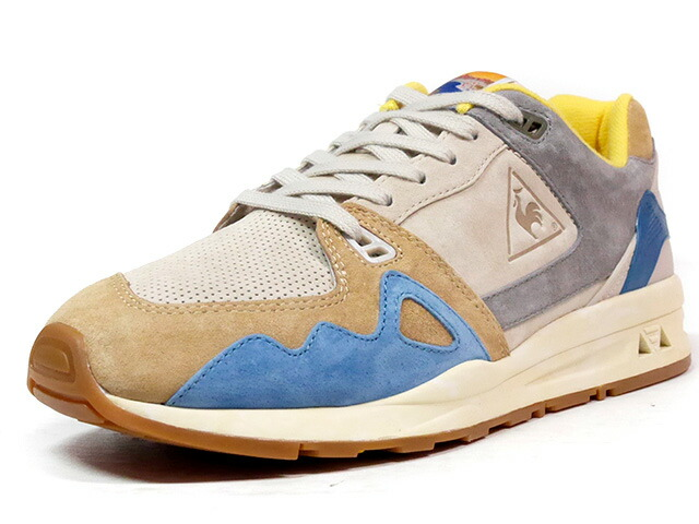 "le coq sportif LCS R 1000 RETRO AFFICHES ""RETRO AFFICHES PACK"" ""LIMITED EDITION""  L.GRY/GRY/BGE/NVY/YEL/NAT/GUM (1710283)"