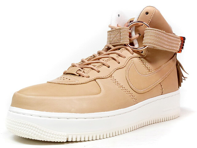 "NIKE AIR FORCE I HIGH SL ""5 DECADES OF BASKETBALL COLLECTION"" ""2017 NBA ALLSTAR GAME/NEW ORLEANS"" ""LIMITED EDITION for NONFUTURE""  BGE/P.GLD/NAT (919473-200)"