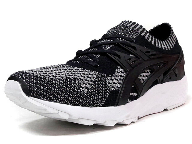 "ASICS Tiger GEL-KAYANO TRAINER KNIT ""REFLECTIVE KNIT PACK"" ""LIMITED EDITION for L1""  BLK/GRY/WHT (TQ7S3N-9390)"
