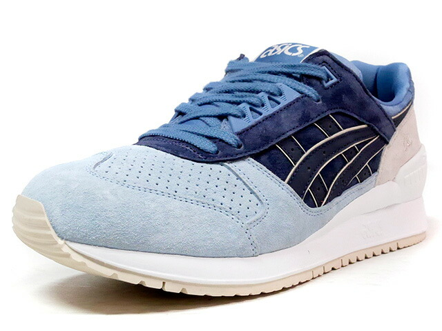 "ASICS Tiger GEL-RESPECTOR ""JAPANESE GARDEN PACK"" ""LIMITED EDITION for L2""  SAX/NVY/BLU/BGE (TQ720L-5858)"