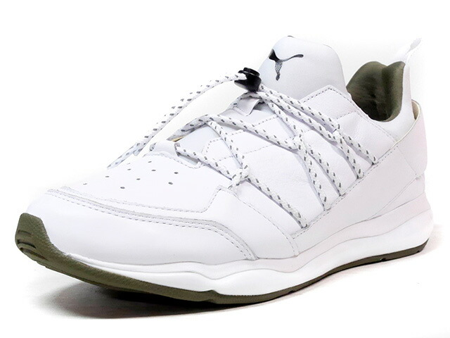 "Puma CELL BUBBLE ""TRAPSTAR LONDON"" ""LIMITED EDITION for CREAM""  WHT/OLV (364687-01)"