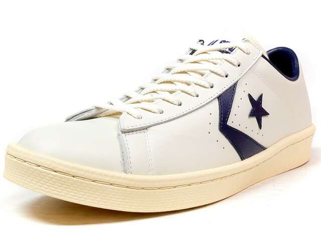 "CONVERSE PRO-LEATHER OX ""CHEVRON & STAR HTG"" ""LIMITED EDITION""  O.WHT/NVY/NAT (32649540)"