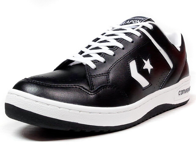 "CONVERSE WEAPON OX ""CHEVRON & STAR HTG"" ""LIMITED EDITION""  BLK/WHT (32649551)"