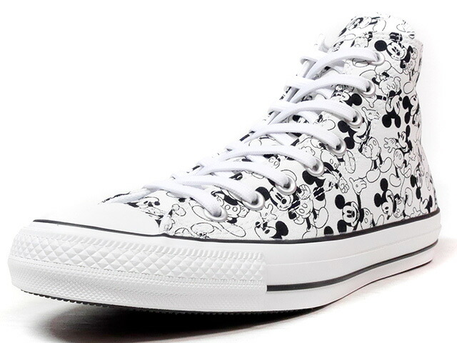 "CONVERSE ALL STAR 100 MICKEY MOUSE PT HI ""MICKEY MOUSE"" ""ALL STAR 100th ANNIVERSARY"" ""LIMITED EDITION""  WHT/BLK (32960631)"