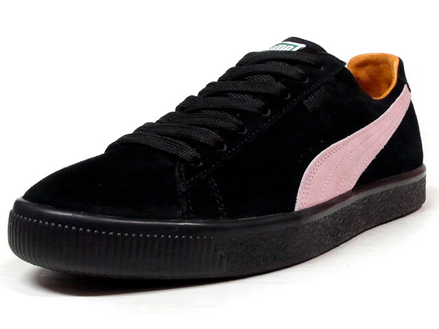 "Puma CLYDE ""Patta"" ""LIMITED EDITION for CREAM""  BLK/PINK/L.BRN (363312-01)"