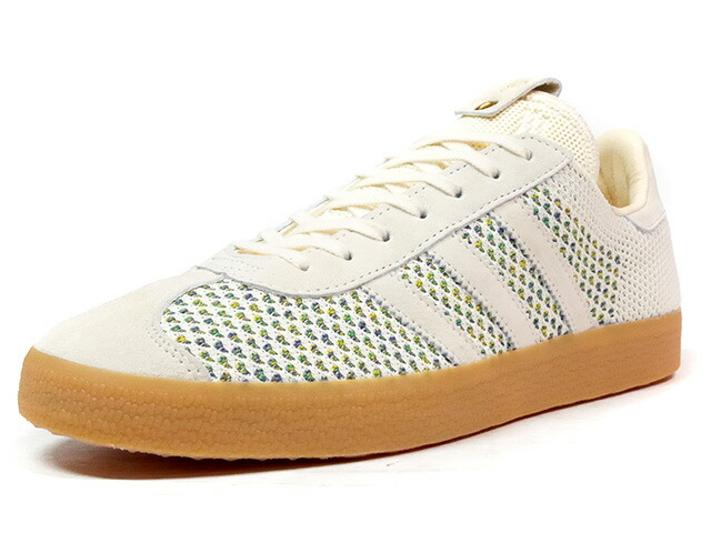 "adidas GAZELLE PK POLITICS ""SNEAKER POLITICS"" ""LIMITED EDITION for CONSORTIUM""  O.WHT/MULTI/GUM (BY2831)"
