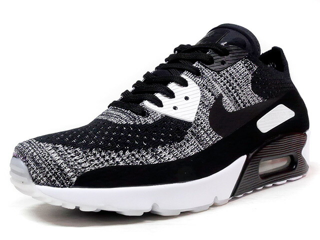"""NIKE AIR MAX 90 ULTRA 2.0 FLYKNIT """"LIMITED EDITION for ICONS""""  BLK/GRY/WHT (875943-001)"""