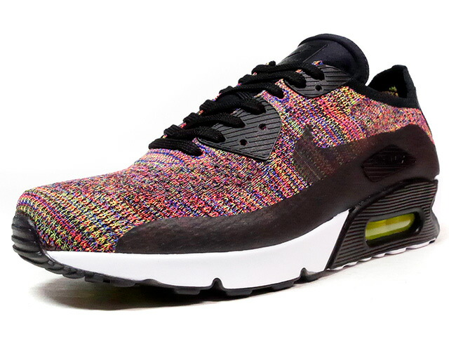 """NIKE AIR MAX 90 ULTRA 2.0 FLYKNIT """"LIMITED EDITION for ICONS""""  MULTI/BLK/WHT (875943-002)"""