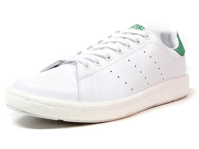 """adidas STAN SMITH BOOST """"LIMITED EDITION""""  WHT/GRN (BB0008)"""