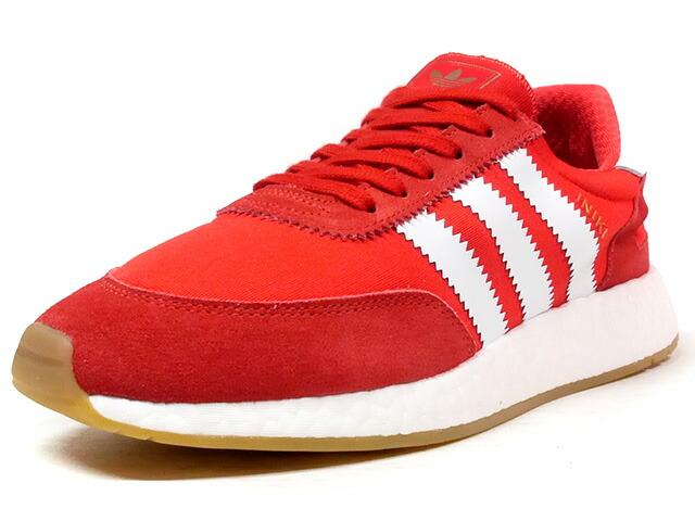 "adidas INIKI RUNNER ""LIMITED EDITION""  RED/WHT/BNZ/GUM (BB2091)"