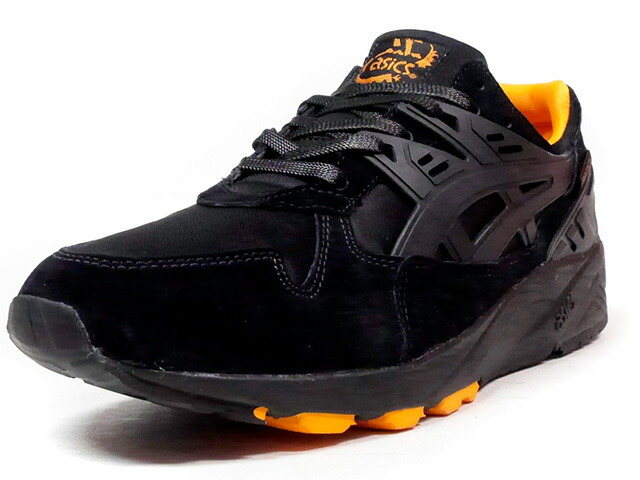 "ASICS Tiger GEL-KAYANO TRAINER ""THAT BLACK NYLON"" ""PORTER""  BLK/ORG (TQK6L3-9090)"