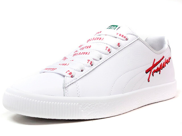 "Puma CLYDE ""TRAPSTAR"" ""LIMITED EDITION for LIFESTYLE""  WHT/RED (362752-01)"
