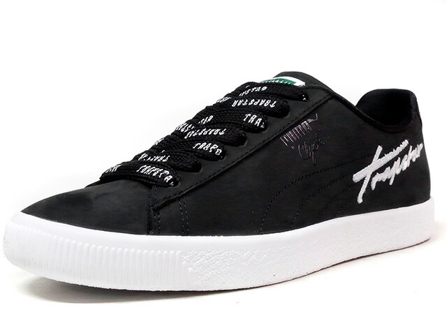 "Puma CLYDE BOLD ""TRAPSTAR"" ""LIMITED EDITION for LIFESTYLE""  BLK/WHT (362989?01)"
