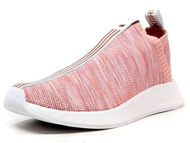 "adidas NMD CS II PK S.E. ""KITH NYC x NAKED"" ""Sneaker Exchange"" ""LIMITED EDITION for CONSORTIUM""  PINK/WHT/GLD (BY2597)"