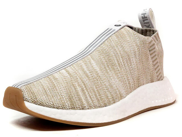 "adidas NMD CS II PK S.E. ""KITH NYC x NAKED"" ""Sneaker Exchange"" ""LIMITED EDITION for CONSORTIUM""  BGE/WHT/SLV/GUM (BY2596)"