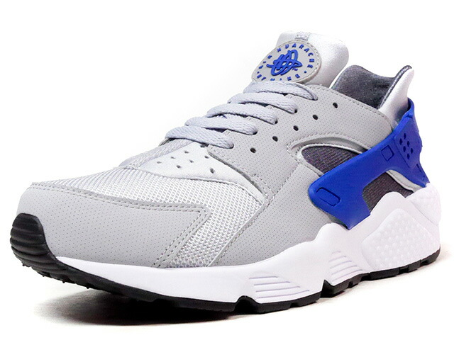 """NIKE AIR HUARACHE """"LIMITED EDITION for ICONS""""  GRY/BLU/WHT (318429-036)"""