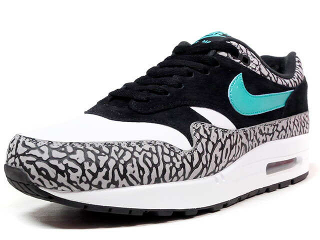 """NIKE AIR MAX I PREMIUM RETRO """"ELEPHANT PACK"""" """"atmos & mita sneakers"""" """"AIR MAX I 30th ANNIVERSARY"""" """"LIMITED EDITION for NONFUTURE""""  WHT/BLK/E.GRN/ELEPHANT (908366-001)"""