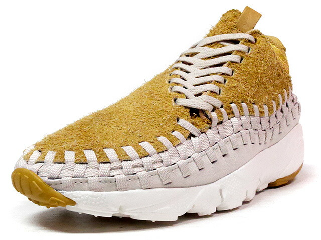 "NIKE AIR FOOTSCAPE WOVEN CHUKKA QS ""LIMITED EDITION for NONFUTURE""  BGE/O.WHT/BRN (913929-002)"