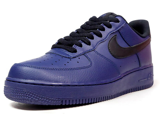 """NIKE AIR FORCE I 07 """"LIMITED EDITION for ICONS""""  NVY/BLK (315122-423)"""