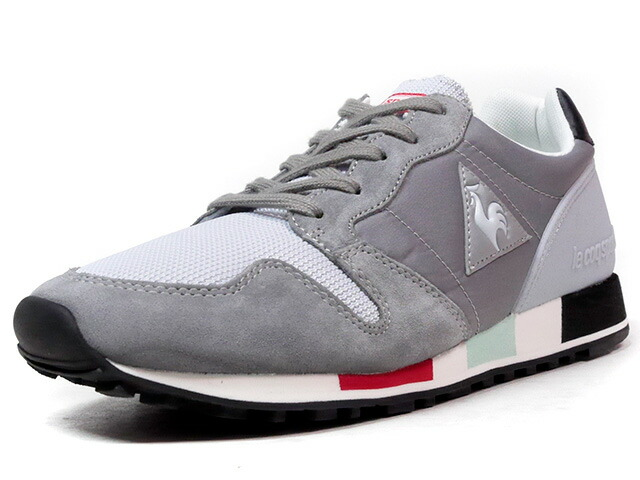 "le coq sportif OMEGA ORIGINAL ""LIMITED EDITION""  GRY/L.GRY/BLK/E.GRN/RED (1710249)"