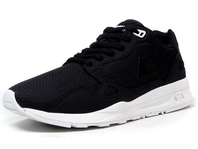 "le coq sportif LCS R 900 WOVEN JACQUARD ""LIMITED EDITION""  BLK/WHT (1710110)"