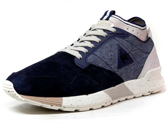 "le coq sportif OMICRON NUBUCK ""LIMITED EDITION""  NVY/BLU/L.GRY/NAT (1710155)"