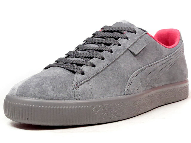 "Puma CLYDE ""NTRVL COLLECTION"" ""STAPLE DESIGN"" ""LIMITED EDITION for LIFESTYLE""  C.GRY/GRY/PINK (363674-02)"