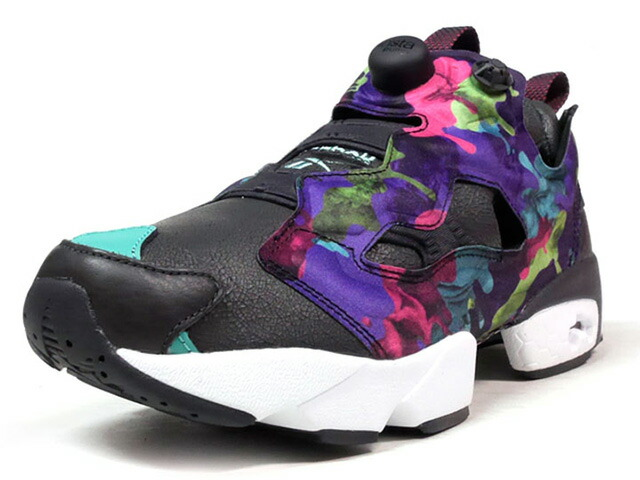 "Reebok INSTAPUMP FURY INTERRUPT ""LIMITED EDITION""  BLK/MULTI (BD1548)"