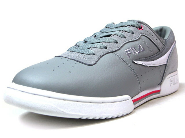 "FILA ORIGINAL FITNESS ""STAPLE DESIGN""  GRY/WHT/PNK (1VF80142GRY)"