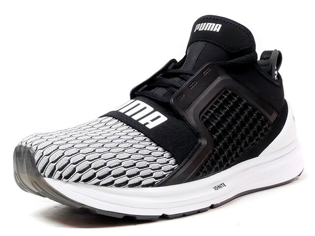 "Puma IGNITE LIMITLESS COLORBLOCK ""LIMITED EDITION for PRIME""  BLK/WHT (189781-01)"