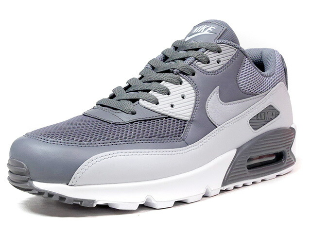 """NIKE AIR MAX 90 ESSENTIAL """"LIMITED EDITION for ICONS""""  L.GRY/GRY/WHT (537384-073)"""