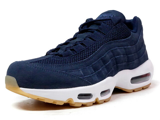"""NIKE AIR MAX 95 PRM """"LIMITED EDITION for ICONS""""  NVY/WHT/GUM (538416-402)"""