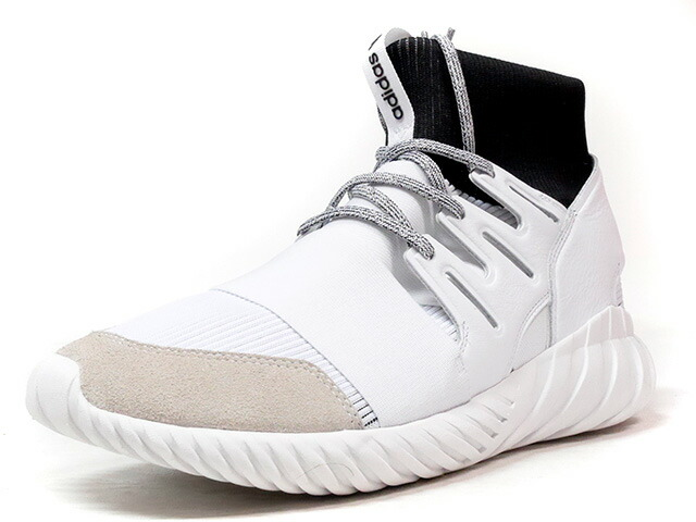 "adidas TUBULAR DOOM ""LIMITED EDITION""  WHT/BLK (BA7554)"