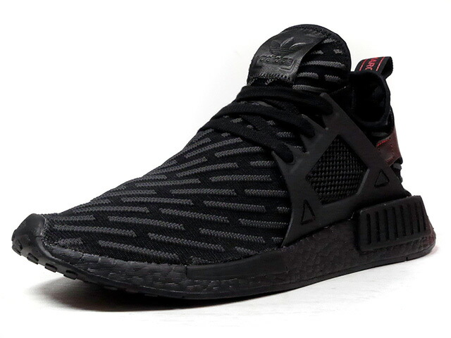 "adidas NMD XR1 PK ""TRIPLE BLACK"" ""LIMITED EDITION""  BLK/GRY/RED (BA7214)"